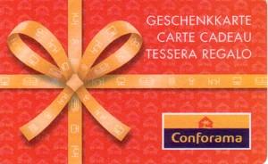 Carte Cadeau Conforama.Liste Des Pays